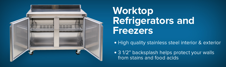 Worktop Refrigerators / Freezers